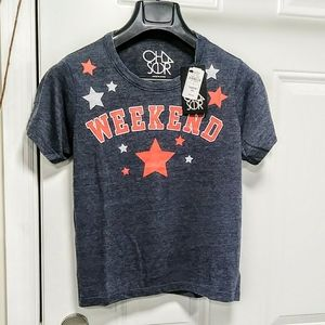 Chaser Weekend Star Croped Tee M